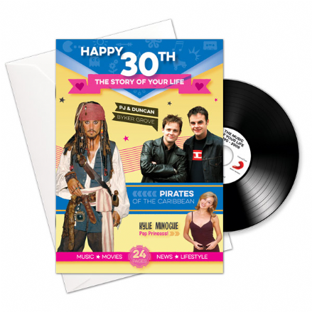 30th Birthday..The Story of your Life CD/Booklet